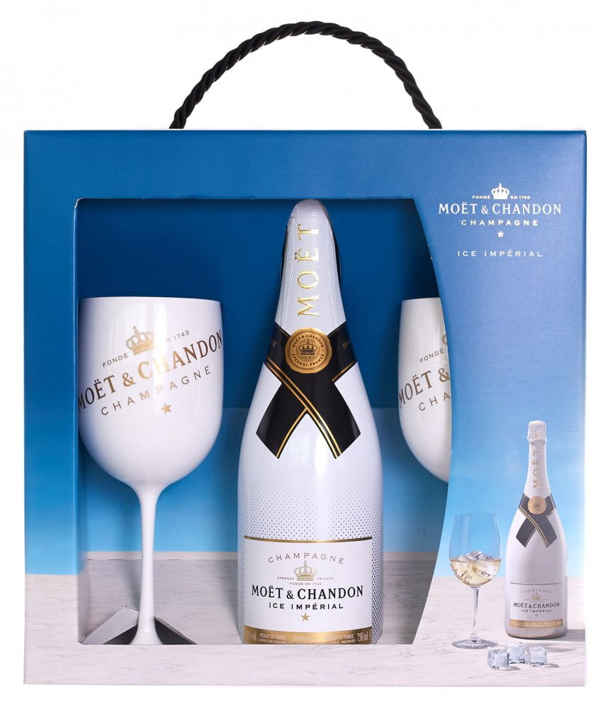 Moët & Chandon ICE Impérial 0,75l 12% + 2x sklo GB