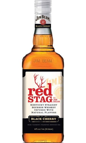 Jim Beam Red Stag 1l 40% + 1x sklo