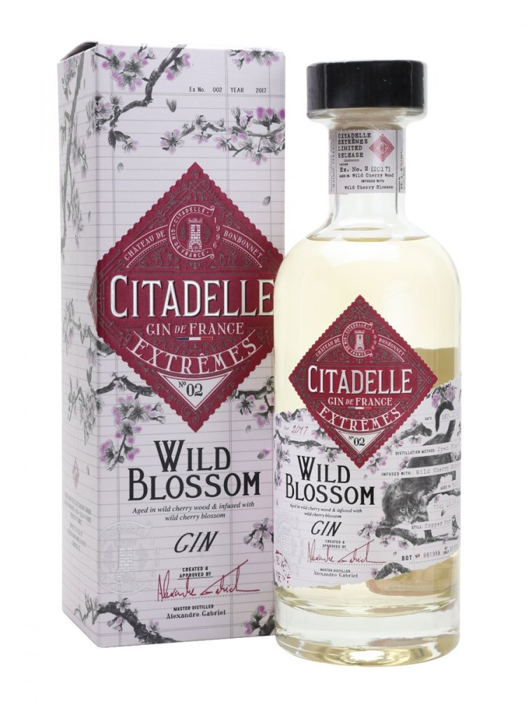 Citadelle Gin Wild Blossom Extremes No.2 0,7l 42,6%