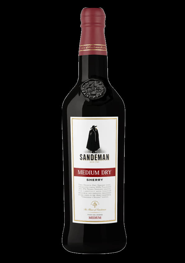 Sandeman Sherry Medium Dry 0,75l 15%