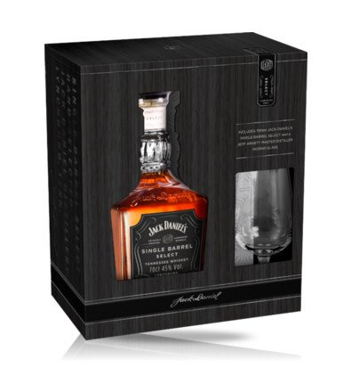 Jack Daniel's Single Barel 0,7l 45% + 1x sklo