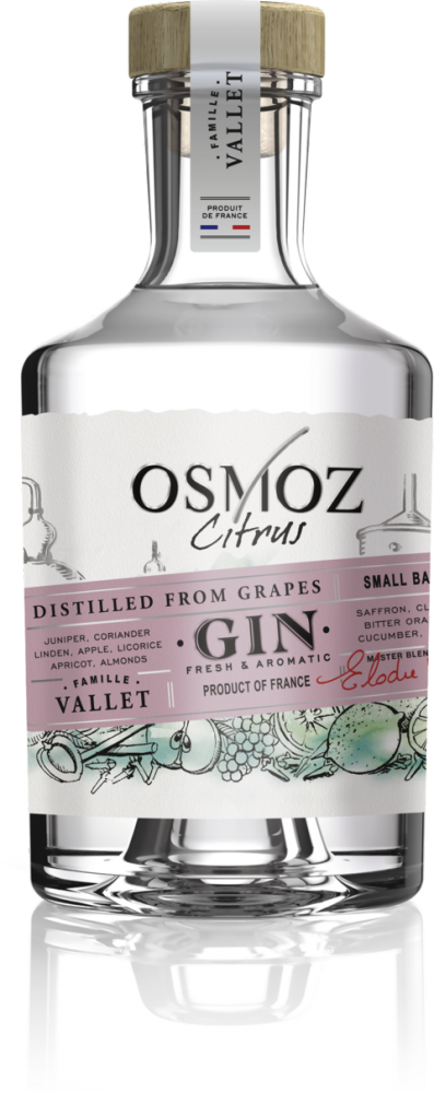 Chateau Montifaud Gin Osmoz Citrus 0,7l 46%