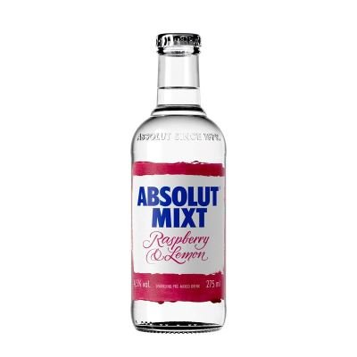 Absolut Mixt Raspberry & Lemon 0,275l 4,5%