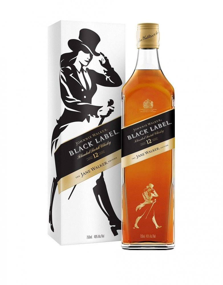 Johnnie Walker Black Label The Jane Walker 12y 0,7l 40%