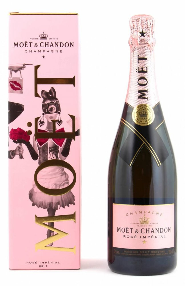 Moët & Chandon Love Rose 0,75l 12% GB
