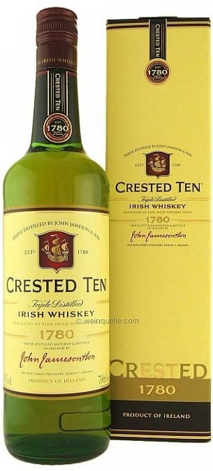 Jameson Crested Ten 10y 0,7l 40%