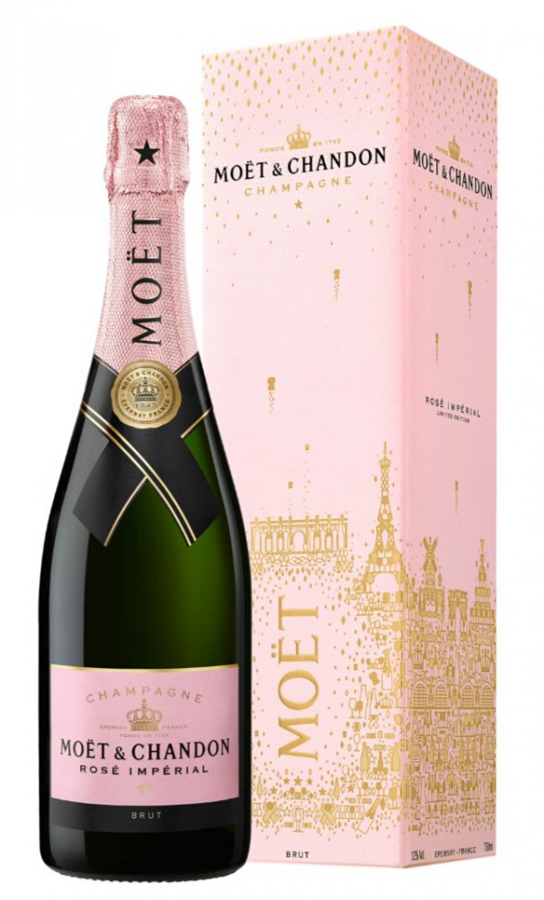 Moët & Chandon Rose 0,75l 12% GB L.E. 2018