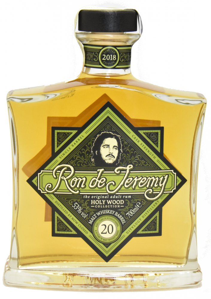 Ron de Jeremy Holy Wood Malt Whiskey Barrel 20y 0,7l 53% L.E.