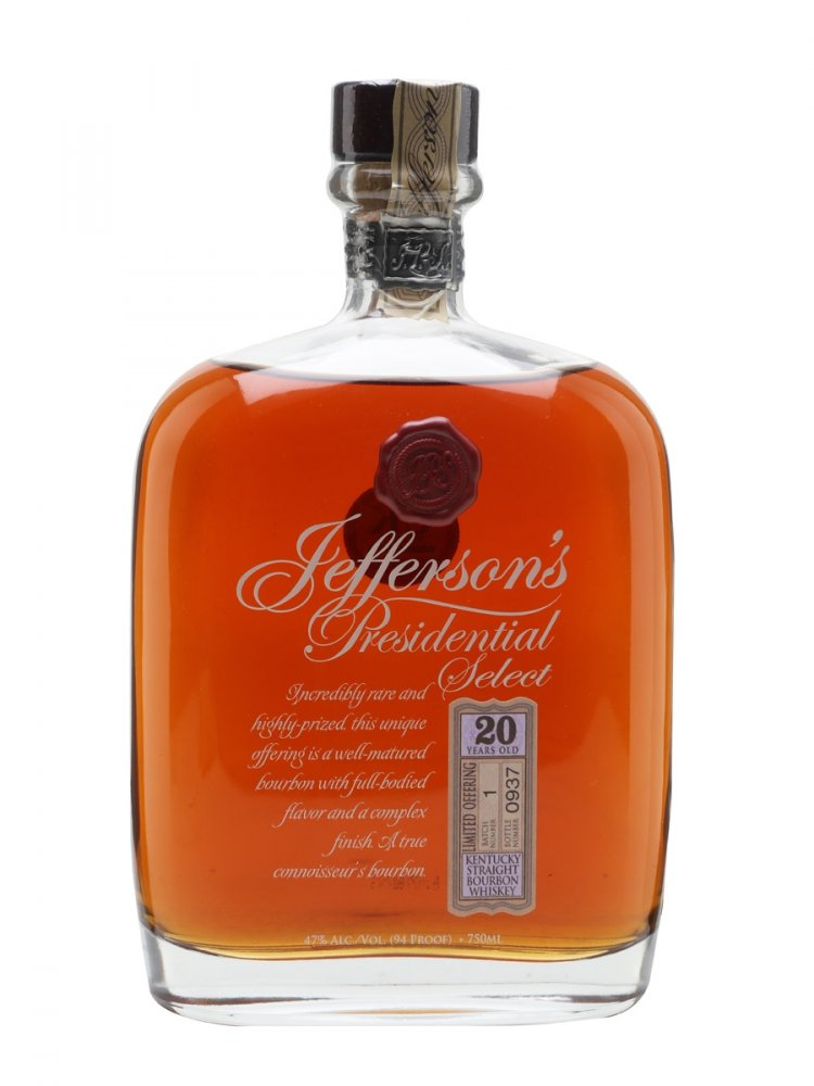 Jefferson's Presidential Select 20y 0,75l 47%