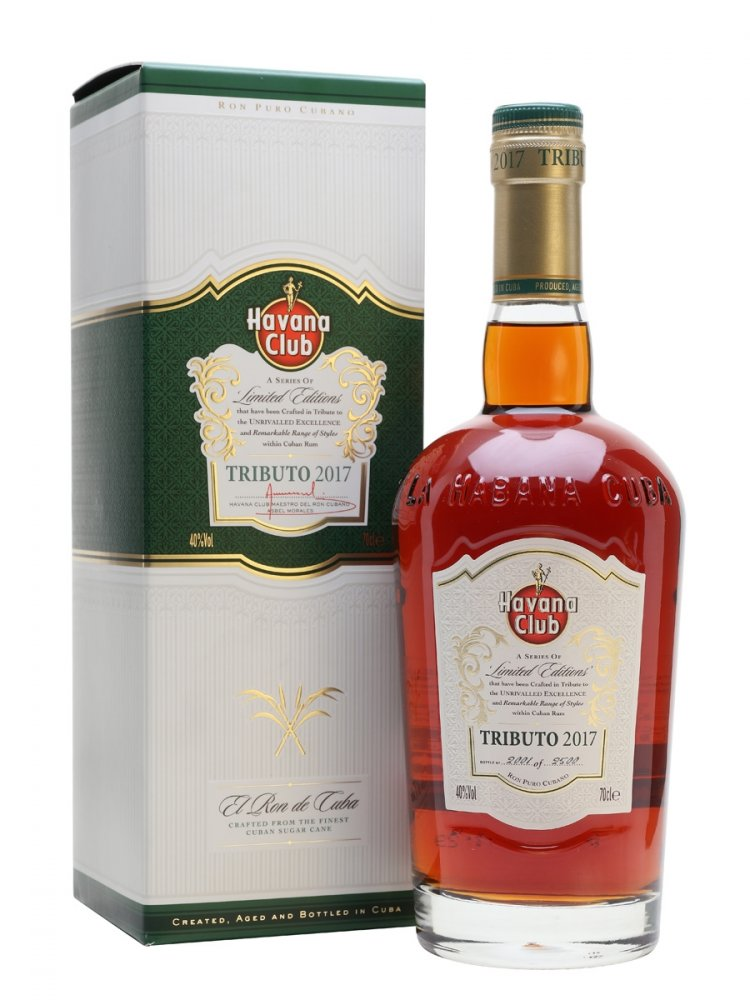 Havana Club Tributo 2017 0,7l 40% GB L.E.