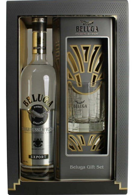 Vodka Beluga 0,7l 40% + 1x sklo GB