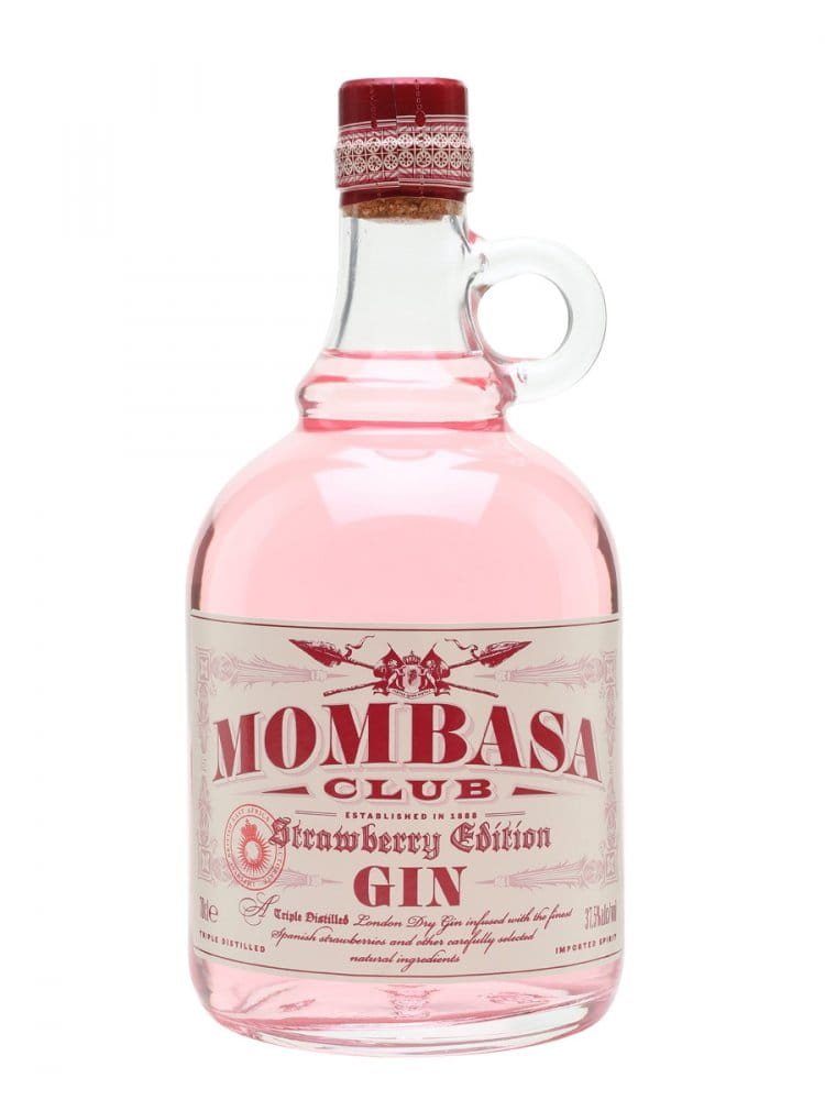 Mombasa Club Strawberry Gin 0,7l 37,5%