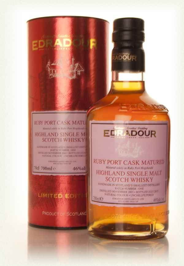Edradour Port Matured 2003 0,7l 46%
