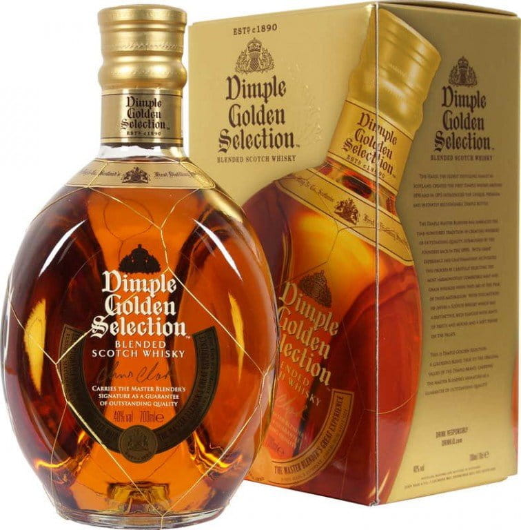 Dimple Golden Selection 0,7l 40% GB
