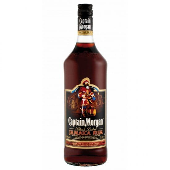 Captain Morgan Black Jamaica 1l 40%