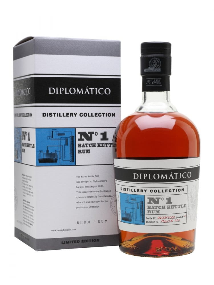 Diplomatico No. 1 Batch Kettle Rum Distillery Collection 2011 0,7l 47% L.E.