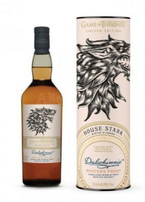 Game of Thrones House Stark – Dalwhinnie Winter's Frost 0,7l 43%