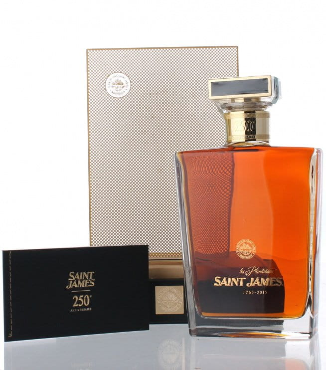 Saint James 250th Anniversary Decanter 0,7l 43% L.E.
