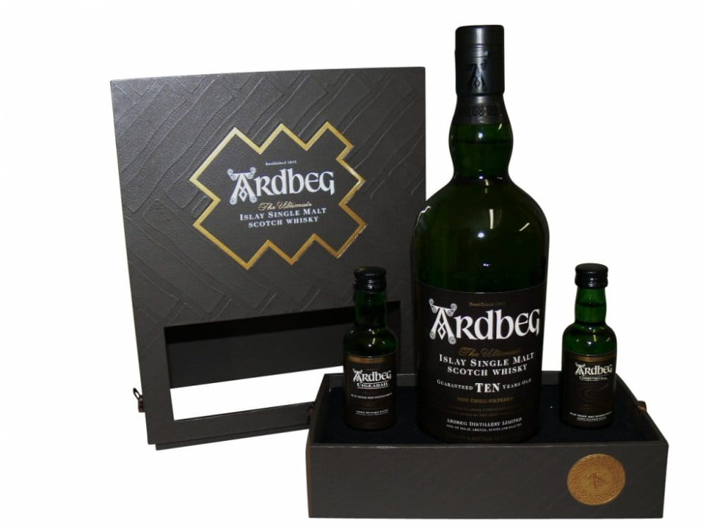 Ardbeg Exploration Pack 0,7l + 2x0,05l 46%