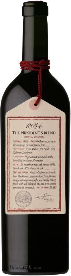 Gascon The President's Blend 2018 0,75l 14%