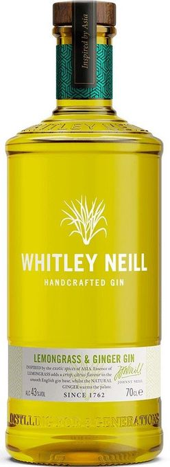 Whitley Neill Lemongrass & Ginger Gin 0,7l 43%